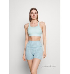 Nike Performance LUXE BRA Medium support sports bra teal tint/barely green/turquoise