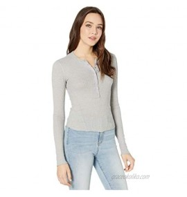 Free People One of The Girls Henley Grey XL (Women's 14)