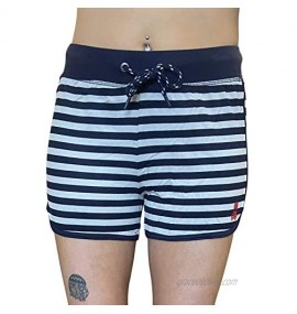 Psycho Bunny Women's Baby Terry Knit Lounge Shorts